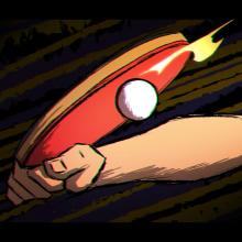 PING PONG POINT. A Animation, Character animation, and 2D Animation project by Josep Bernaus - 08.04.2020