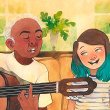 PESSOAL • Volare. A Illustration, Children's Illustration & Ink Illustration project by Juliana Rabelo - 08.04.2020