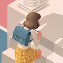 Annie Ernaux Book Covers. Un projet de Illustration, Conception éditoriale et Illustration numérique de Laura Wächter - 05.08.2020