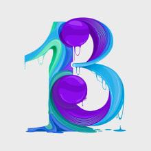 Number 12+1. Un proyecto de Ilustración, Publicidad, Diseño gráfico, Tipografía, Ilustración vectorial e Ilustración digital de Maikel Martínez Pupo - 29.06.2018