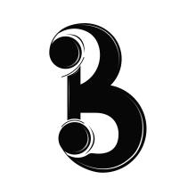 Letra B. Un proyecto de Diseño, Ilustración, Br, ing e Identidad, Diseño gráfico, Escritura, Caligrafía, Lettering, Ilustración vectorial, Creatividad, Diseño de logotipos, Ilustración digital, Diseño digital, Diseño tipográfico, Comunicación, H y lettering de Maikel Martínez Pupo - 05.08.2020