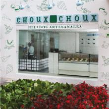 Choux-Choux. A Illustration, Br, ing und Identität und Dekoration von Innenräumen project by Arutza Rico Onzaga - 18.04.2013