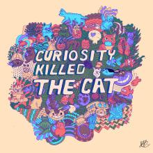 Proyecto de ilustración sobre gatos y peces. Un proyecto de Diseño, Ilustración e Ilustración digital de Jesús Antonio Benítez Juárez - 08.08.2020