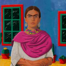 """""""FRIDA"""", del curso: Retratos pictóricos con técnicas digitales. Un proyecto de Ilustración digital de Ernesto Pérez Medina - 08.08.2020"""