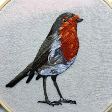 Meu projeto do curso: Pintar com linha: técnicas de ilustração têxtil. Un proyecto de Bordado de Tiago Dos Reid - 09.08.2020