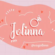 Jolinna - Acessórios com Perfeição. Un proyecto de Br e ing e Identidad de Camila Borges Cambor - 10.08.2020