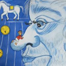 Janko Hraško - My project in Introduction to Children's Illustration course. Un progetto di Disegno di koutna.marianna - 12.08.2020