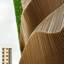 Fachada Escola Crescimento. Fotografia de arquitetura.. Un proyecto de Fotografía, Arquitectura, Fotografía digital, Fotografía artística y Fotografía arquitectónica de Jesús Pérez - 12.08.2020