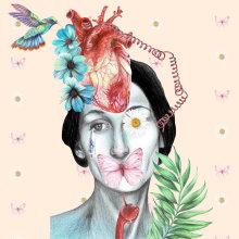 Mi Proyecto del curso: Ilustración comercial con lápices de colores. Un proyecto de Ilustración de Arlette Cassot - 13.08.2020