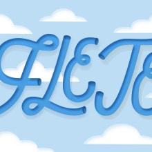 Mi Proyecto del curso: Los secretos dorados del lettering. Un proyecto de Lettering, H y lettering de Irene Fabelo Santana - 17.08.2020