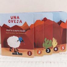 Una oveja (La Brujita de papel). Un proyecto de Ilustración infantil de Paz Tamburrini - 18.08.2020