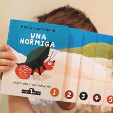 Una Hormiga (La Brujita de Papel). Un proyecto de Ilustración infantil y Art to de Paz Tamburrini - 18.08.2020