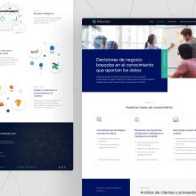 Prenomics Website. A Design, UI / UX, Web Design, and Digital Design project by Matias Fosco Tornielli - 08.18.2020