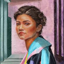 Mi Proyecto del curso: Retratos pictóricos con técnicas digitales. Un proyecto de Ilustración y Pintura digital de Beatriz Isabel - 18.08.2020