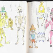 My project in Illustration Techniques to Unlock your Creativity course. Un progetto di Disegno di koutna.marianna - 19.08.2020
