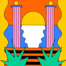 Sunset. Un projet de Illustration, Conception éditoriale, Dessin, Illustration numérique, Conception digitale , et Dessin numérique de Sonia Cabré - 20.08.2020