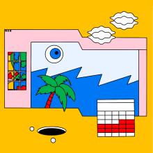 Planning. Un projet de Design , Illustration, Conception éditoriale, Design graphique, Dessin, Conception d'affiche, Illustration numérique , et Dessin numérique de Sonia Cabré - 23.08.2020