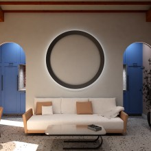 Arc home. A 3-D, Innenarchitektur, Innendesign, 3-D-Modellierung und Innenarchitektur project by Jonatan Siria Sanchez - 20.07.2020