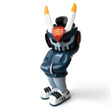 Bomberteq - custom MEGATEQ. A Design, Design von Figuren, H, werk, Spielzeugdesign, Kreativität und Art To project by Igor Ventura - 24.08.2020