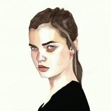 Mi Proyecto del curso: Retrato en acuarela a partir de una fotografía. Um projeto de Ilustração, Artes plásticas, Pintura, Pintura em aquarela e Ilustração de retrato de Marisol Ormanns - 27.08.2020