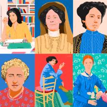 Retratos de mujeres. Um projeto de Ilustração de Gisele Murias - 30.08.2020