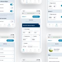 Rediseño WebApp RiegaT. Um projeto de UI / UX de Óscar Santos Pérez - 01.09.2019