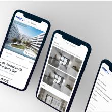 Rediseño web Metrovacesa. Um projeto de UI / UX de Óscar Santos Pérez - 02.09.2020