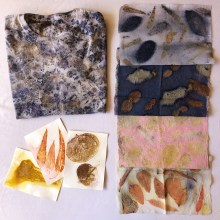 Mi Proyecto del curso: Impresión botánica en textil y papel. A Crafts, Fashion, and Fashion Design project by Anabel Torres - 07.03.2020