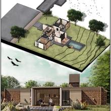 Mi Proyecto del curso: Ilustración digital de proyectos arquitectónicos. A Design, Architecture & Interior Architecture project by Alfonso Bayona - 09.03.2020