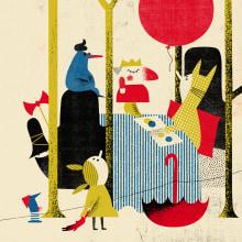 Editorial: digital collage. Um projeto de Ilustração, Colagem, Ilustração de retrato e Ilustração infantil de Catarina Sobral - 30.12.2016