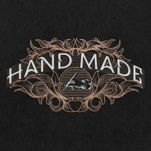 HANDMADE - Lettering. A Design, T, pografie, Kalligrafie, Logodesign, Concept Art, Pixel Art, Digitales Design, Kalligrafie mit Brush Pen und Digitale Zeichnung project by Homar Aparicio - 07.09.2020
