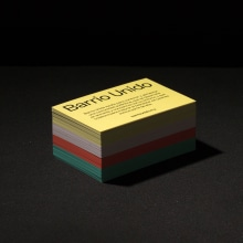 Barrio Unido. A Br, ing und Identität, Marketing und Plakatdesign project by VVORKROOM - 09.09.2020