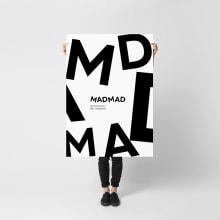 MadMad. A Kunstleitung, Br, ing und Identität, Grafikdesign, Naming und Logodesign project by Revel Studio - 09.09.2020