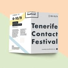 Tenerife Contact Festival. Um projeto de UI / UX, Br e ing e Identidade de Gisele Murias - 09.09.2020