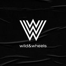Wild & Wheels. A Br, ing und Identität, Design von Garderoben, Grafikdesign, Logodesign und Modedesign project by Revel Studio - 09.09.2020