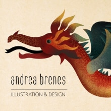 My project in Keys for Creating a Professional Illustration Portfolio course. A Design, Illustration, Web Design, Vector Illustration, and Digital illustration project by Andrea Brenes - 09.11.2020
