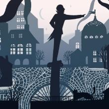 Historias ilustradas con luz y sombra. A Illustration, Animation, Digital illustration, Stor, telling, and Narrative project by Ina Hristova - 09.11.2020