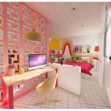 Proyecto Final: Iniciación al diseño de interiores. Um projeto de Arquitetura de interiores de Alexandra Ospina - 07.09.2020