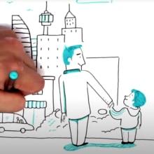 Doodle dibujado IT NOW. Un proyecto de Ilustración, Animación, Animación de personajes, Animación 2D, Stor y telling de Juanma García Escobar - 12.09.2020