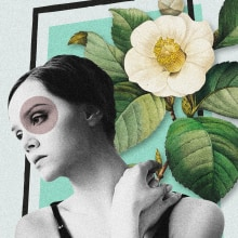 Meu projeto do curso: Colagem digital para meios editoriais. A Illustration, Collage und Digitale Illustration project by Collecta Estúdio - 13.09.2020