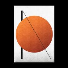 36 days of Type vol.7 Geometrical Abstraction. Um projeto de Direção de arte, Design gráfico, Design de cartaz e Desenho tipográfico de Linus Lohoff - 14.03.2020