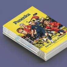 Panenka. Un proyecto de Ilustración, Diseño gráfico, Dibujo e Ilustración digital de Ink Bad Company - 14.09.2020