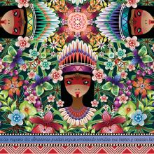 Proyecto Solidario para las Mujeres del Amazonas. A Design, Illustration, Product Design, Vector Illustration, and Textile illustration project by Catalina Estrada Uribe - 09.15.2020