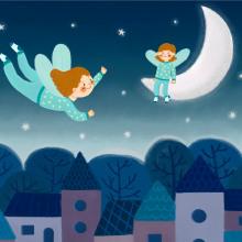 Mi Proyecto del curso: Ilustración infantil para publicaciones editoriales. Un proyecto de Ilustración, Ilustración digital e Ilustración infantil de Ariadna Cisternas Buenaño - 18.09.2020