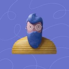 Portraits. Um projeto de Ilustração, Design de personagens, Animação 2D, Animação 3D, Ilustração de retrato e Design de personagens 3D de Itsacat&Goodog - 18.01.2021