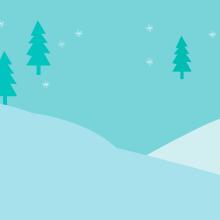 Felicitación navideña interactiva. Un proyecto de Ilustración vectorial, Animación 2D, Videojuegos, Diseño de videojuegos y Desarrollo de videojuegos de Isi Cano - 05.07.2017