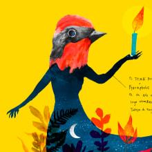 Ilustraciones Eme21Magazine. Um projeto de Ilustração, Design editorial, Design gráfico, Ilustração digital e Ilustração com tinta de Adolfo Serra - 21.09.2020
