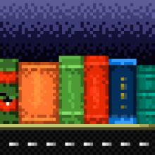 Read'em Up. Un proyecto de Pixel art de Isi Cano - 08.01.2015