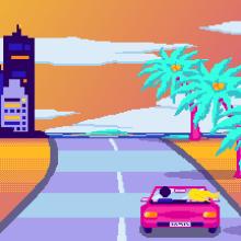 Mauri - Game Over (Pixel art). Un proyecto de Música, Audio, Cine, vídeo, televisión y Pixel art de Isi Cano - 03.09.2019