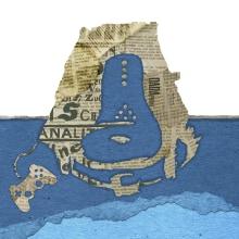 Portada Dadaland: analogías dadaístas en los videojuegos. Un proyecto de Ilustración, Collage e Ilustración digital de Isi Cano - 10.09.2015